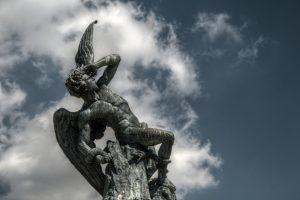 Lucifer Falling - Flickr Image by: Felipe Gabaldón