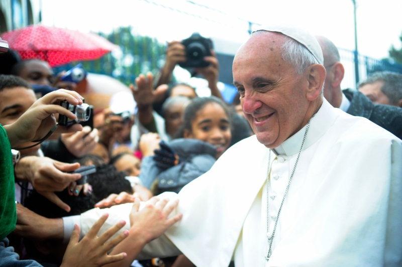 Image by: Wikimedia Commons - Pope Francis at Vargihna